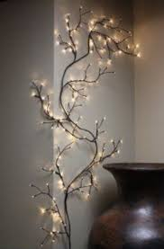 8 ft string lights willow branch twig tree lighted wall vine home