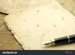 old writing paper template ink pen on old aged paper stock photo 65086504 shutterstock ink pen on old aged paper