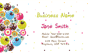 childcare business cards business card design 1101131