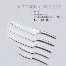 dishwasher safe kitchen knives shape carbonized glue fumigation small big utility durable