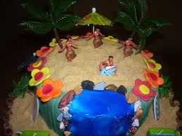 edible luau cake decorations best decoration ideas for you