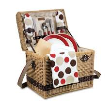 picnic baskets for two yellowstone moka deluxe picnic basket for two