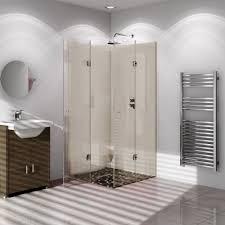 B Q Shower Screens Over Bath Vistelle Safari Single Shower Panel L 2 44m W 1 22m T 4mm