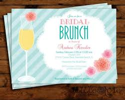 ideas for bridal luncheon floral mimosa bridal brunch invitation bridal shower invite
