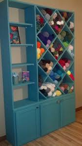 Yarn Storage Cabinets Yarn Storage Cabinet My Husband Made For Me To Put In The Craft