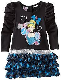 amazon com disney girls u0027 cinderella dress playwear dresses clothing