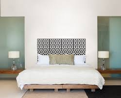 Bed Headboard Ideas Diy Headboard Wallpops Poptalk Dma Homes 60223
