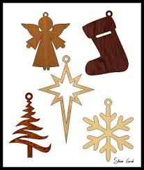 five simple ornament scroll saw patterns free