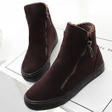 zipper boots s s booties 2017 waterproof winter ankle boots zipper
