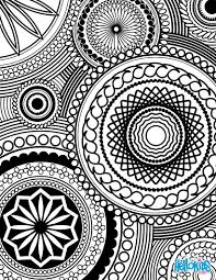 design coloring pages difficult geometric design coloring pages