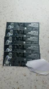 2 dallas cowboys football tickets thanksgiving day la