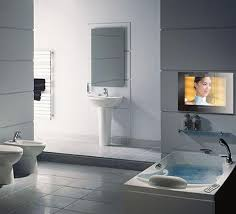 bathroom tv ideas 230 best all kinds of bathrooms images on