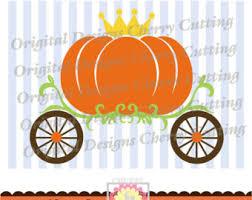 pumpkin carriage pumpkin carriage etsy