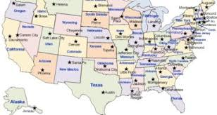 map of united states countries and capitals us maps and state capitals businessontravel com