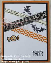 Halloween Washi Tape by October 2013 Stamping With Karen