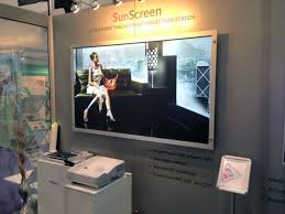 ambient light rejecting screen ultra short throw front projection screen
