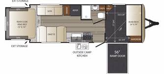 Travel Trailers With Bunk Beds Floor Plans Keystone Rvs For Sale Camping World Rv Sales