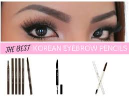 How To Pencil In Eyebrows Best Korean Eyebrow Pencil Nylon Pink Official Website