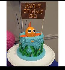 o fish ally one cake camden u0027s first birthday pinterest