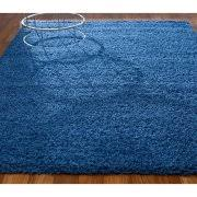 Home Store Rugs Blue Shag Rugs