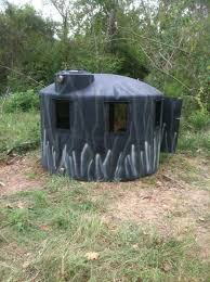 Reflective Deer Blind Water Tank Build Texasbowhunter Com Community Discussion Forums