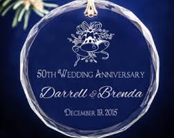 40th wedding anniversary personalized ornament