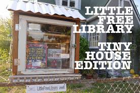 little free library signed deek n u0027 dee tiny house books on tour