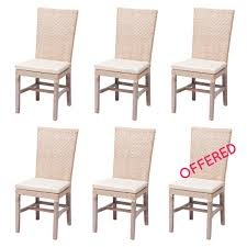 more like this pottery barn kitchen chairs and rattan chairs