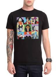 Disney Clothes For Juniors Disney Villains Characters T Shirt Topic