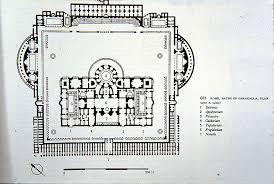 baths of caracalla floor plan art history by laurence shafe rome baths of caracalla plan art