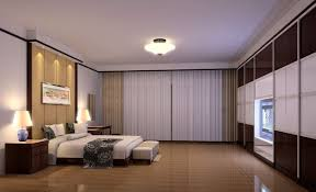 Navy Blue And White Horizontal Striped Curtains Bedroom White Double Bed And Mattress Nightstands Track Lighting