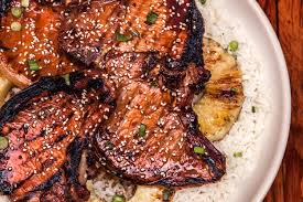 grilled teriyaki pork chops recipe chowhound