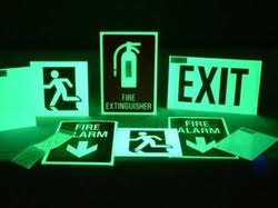 glow in the stickers safety and directional sign glow in stickers manufacturer