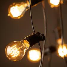 Edison Bulb String Lights Edison Outdoor String Lights Sacharoff Decoration