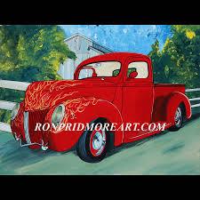 Antique Ford Truck Art - trucks u2013 ron pridmore art gallery