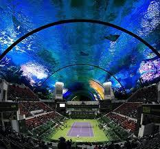 lexus hotel dubai an underwater tennis court in dubai to host grand slam tournaments