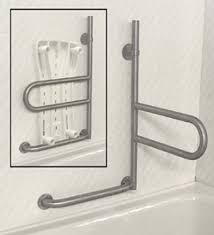 How Many Handicap Bathrooms Are Required The Horizontal Swivel Feature Of This Grab Bar Would Be Perfect