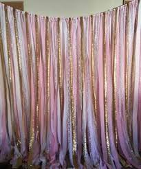 wedding backdrop name we created another fabric banner it is going in a sweet babyboy