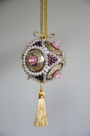 Styrofoam Christmas Decorations - 334 best satin ornaments images on pinterest beaded christmas