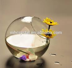 tilted glass bubble bowl vase mh 12730 buy glass terrarium round