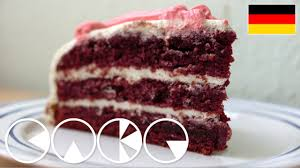 red velvet cake deutsches rezept youtube