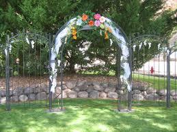 wedding arch used simply weddings