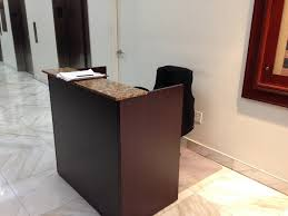 Small Receptionist Desk Small Reception Desk And Chair New Furniture