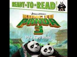 kung fu panda 3 po u0027s dad u0027s aloud story book