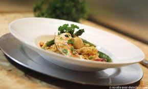 cuisiner queue de langoustes crues surgel馥s risotto langouste jacques à la bisque de homard