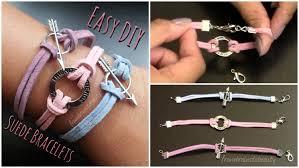 cord bracelet kit images Easy diy suede bracelet back to school tutorial jpg
