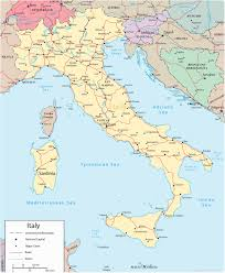 Italy Cities Map by Italy Map Travel Europe