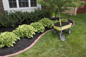Backyard Landscaping Ideas With Rocks by Landscape Simple Landscaping Ideas Using Mulch For Country Home