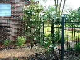 build a cheap metal garden trellis planter designs ideas