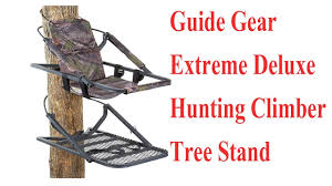 Best Hunting Chair Guide Gear Extreme Deluxe Hunting Climber Tree Stand Best Tree